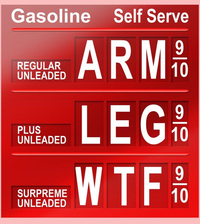 © Anthony Furgison  fuel price