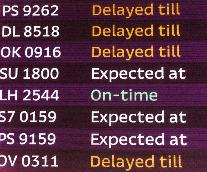 © Oleksii Sergieiev flight delays