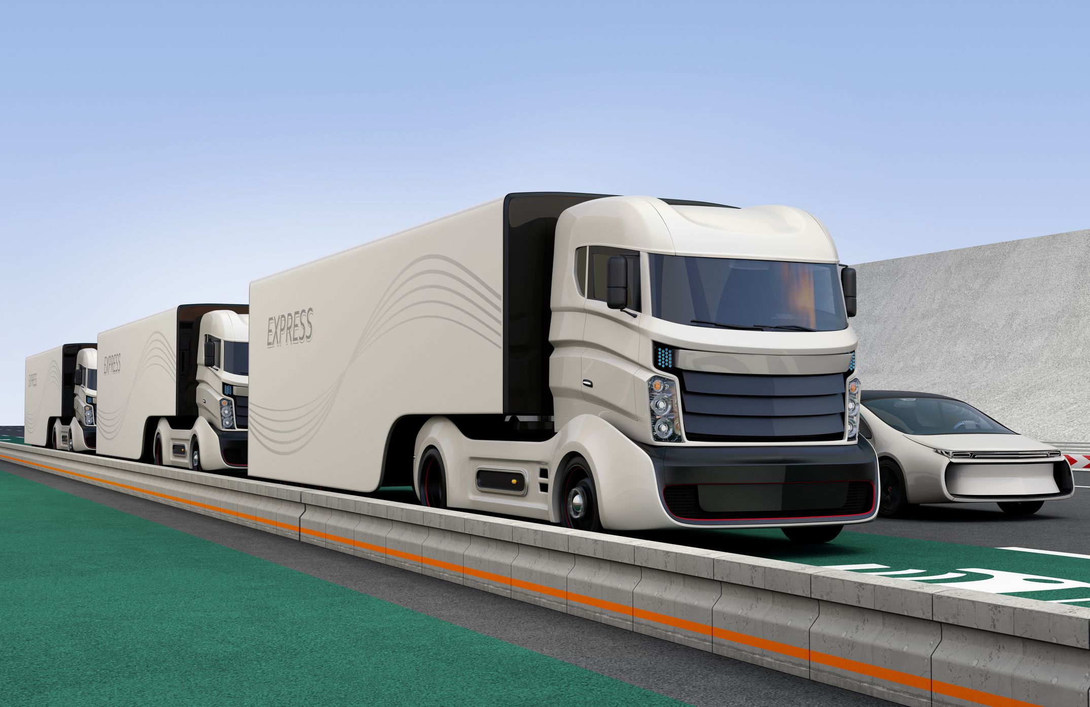 © Haiyin  autonomous trucks
