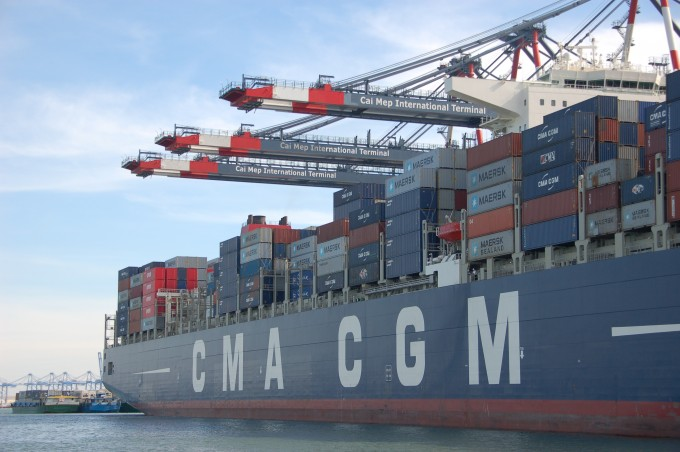 111219 CMA CGM Laparouse at CMIT photo