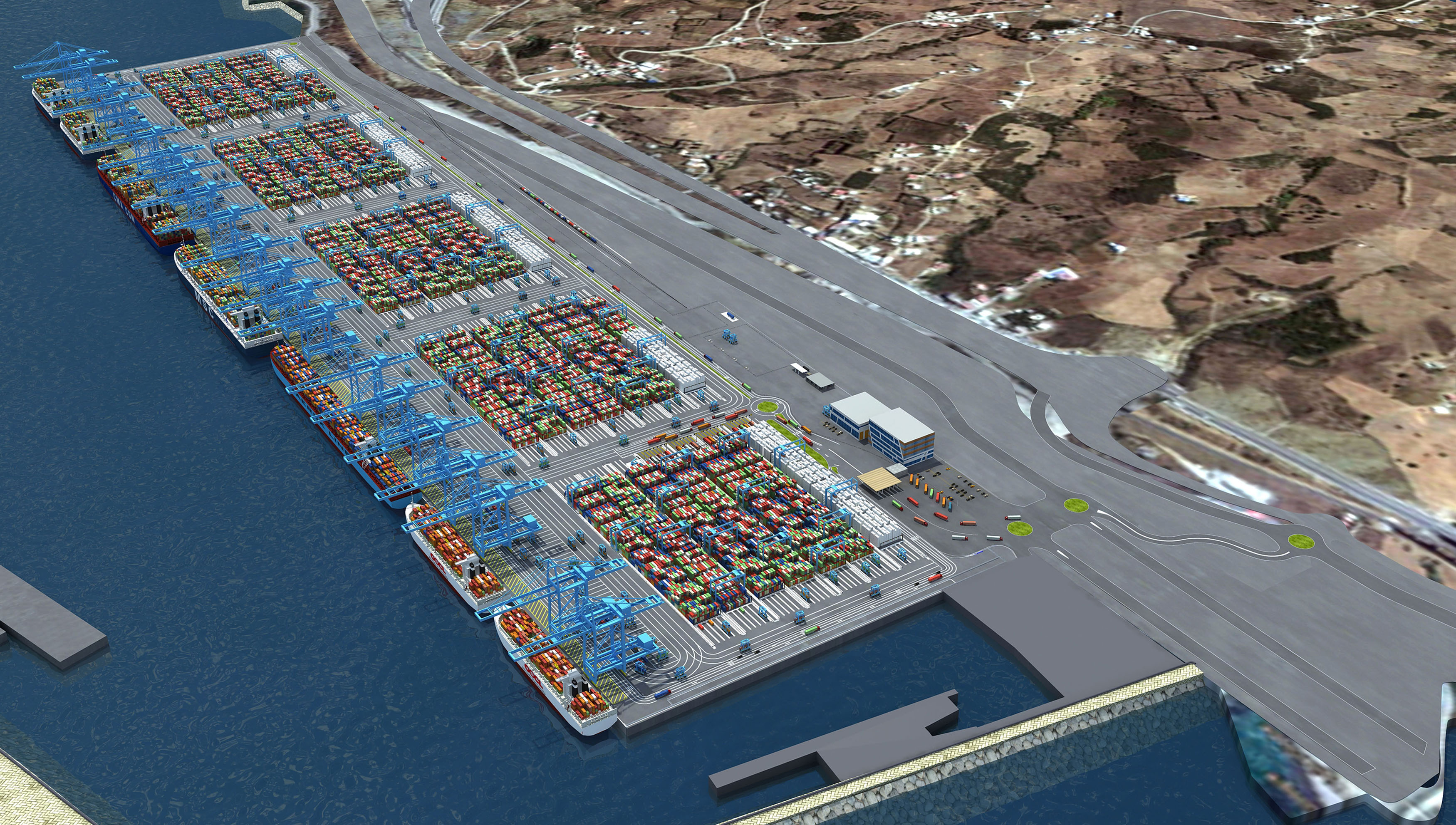 apmt tangier investment could turn the straits of