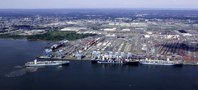 170221 APM Terminals Port Elizabeth New Jersey aerial photo