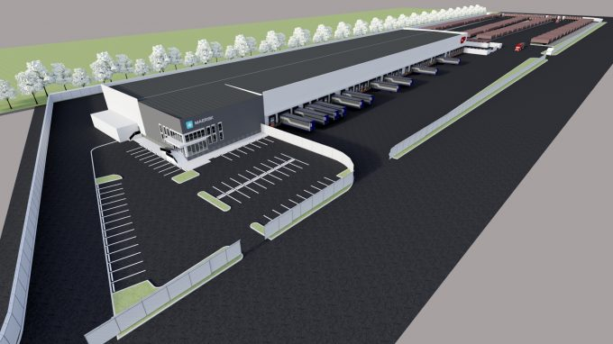 200915 Maersk_CP Vancouver Canada Transload Center rendering