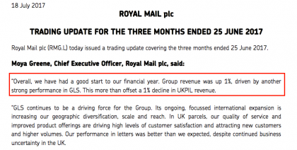 RMG interim update (source RMG)