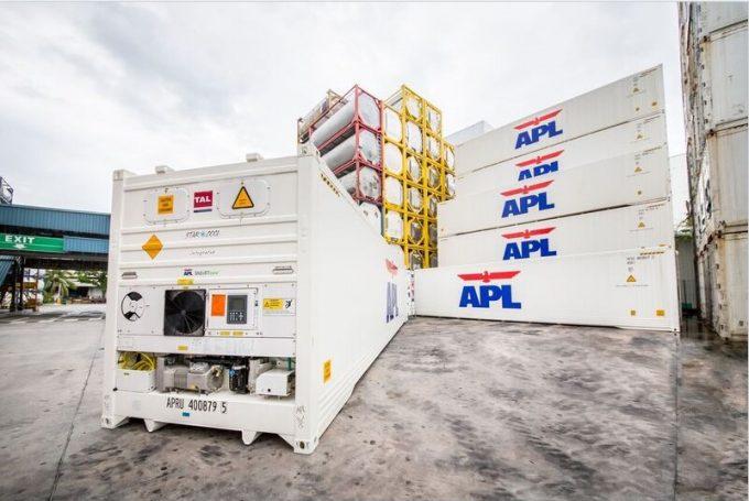 APL's reefer fleet