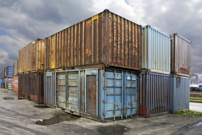 Abandoned containers
