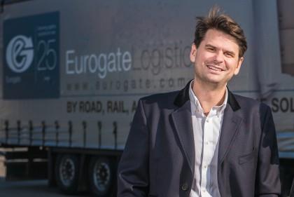 Eurogate Logistics managing director Adam Nagy