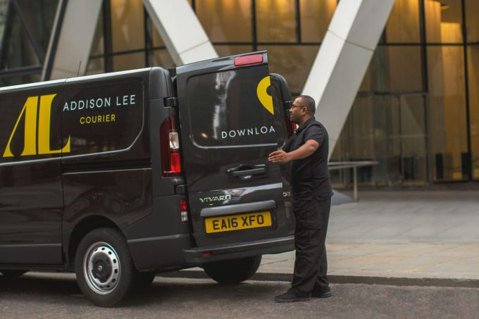 Addison Lee courier