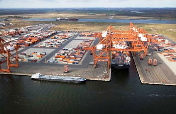 Amsterdam container terminal
