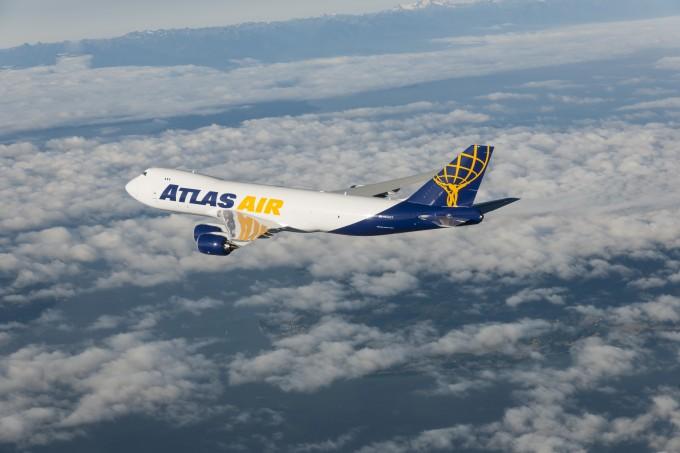 Atlas 747-8f Air to Air