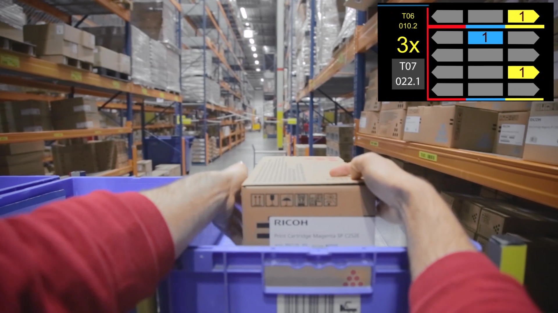 Dhl air express airway bill instructions - Dhl Supply Chain Eyes New Augmented Reality As It Expands Use Of Smart Glasses The Loadstar