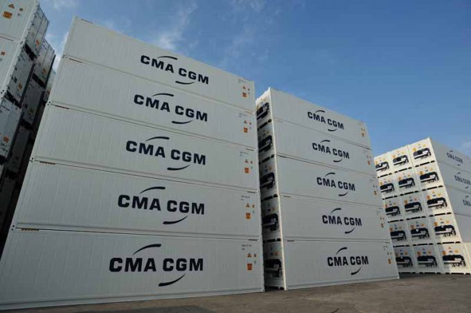 CMA CGM reefers