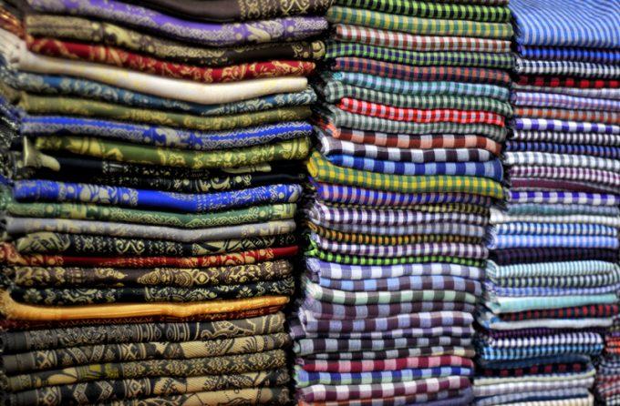 Cambodian garments