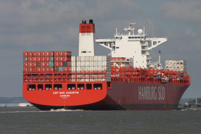 Hamburg Sud's Cap San Augustin