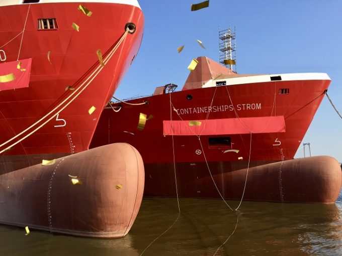 Containerships Strom