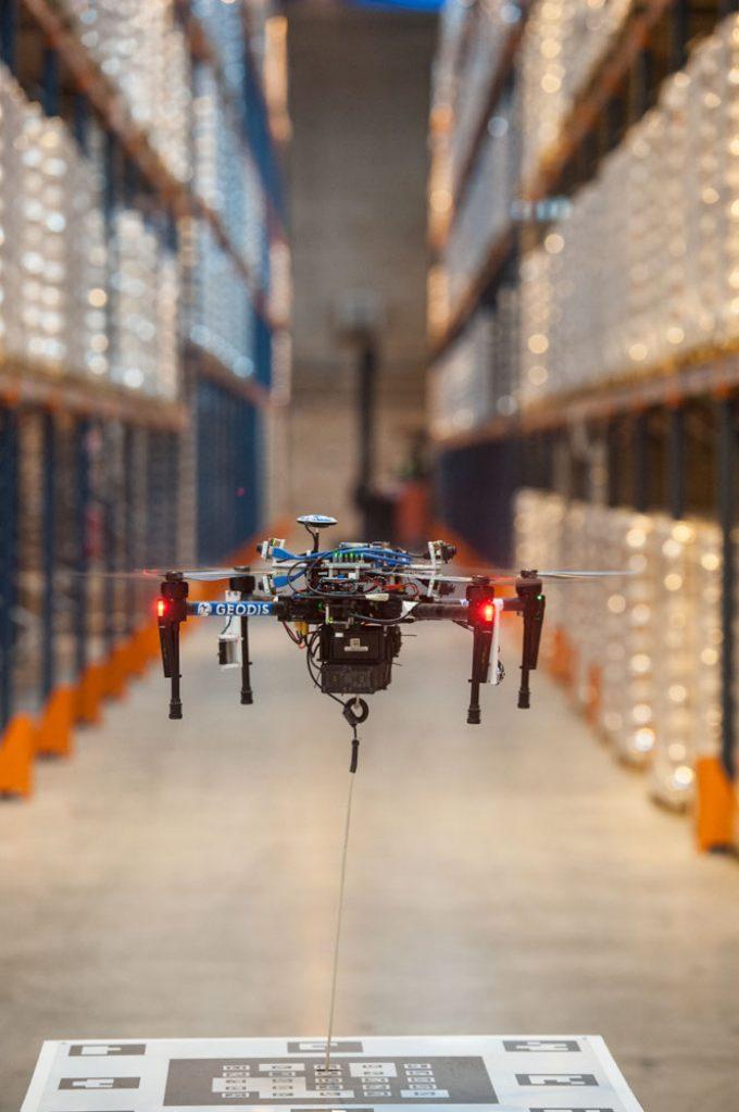 Drone d'inventaire - GEODIS DELTADRONE HerveBoutet