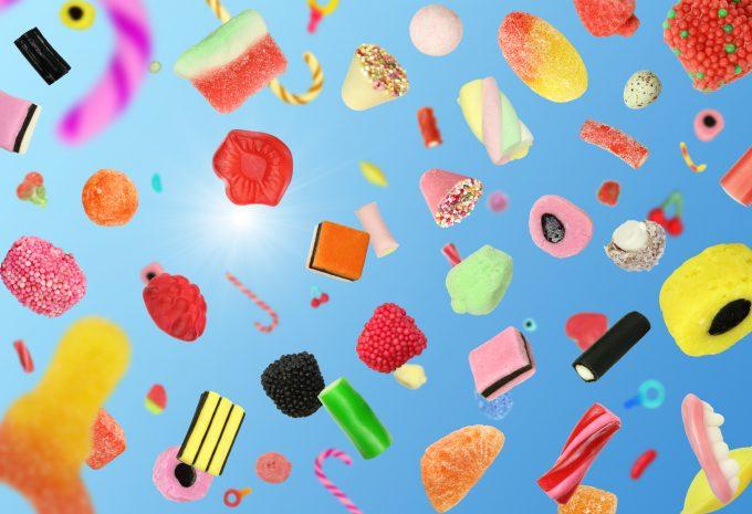 Falling candy -© Dvmsimages