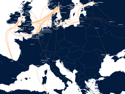 DFDS's network