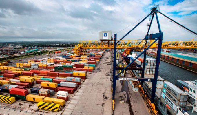 Grangemouth container terminal