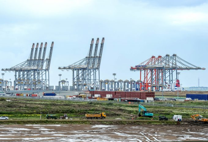 DP World London Gateway new Quay Cranes