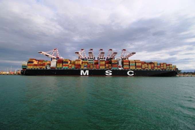 MSC London in Gioia Tauro (3)