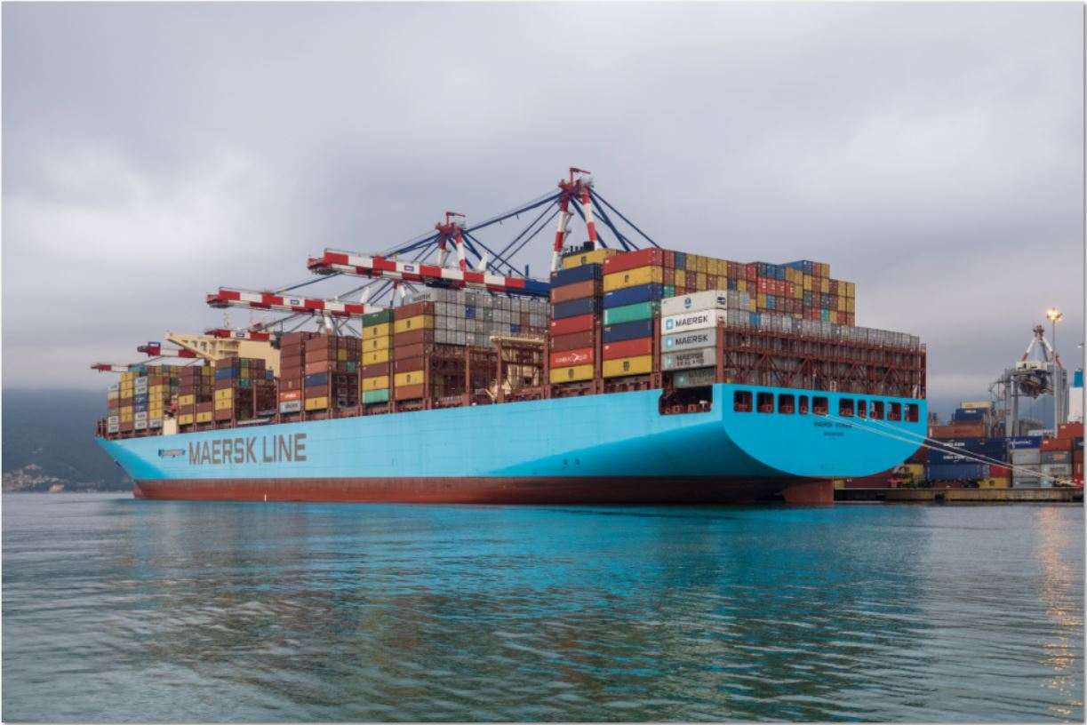 Fire ravages Maersk mega-containership – four crew members ...