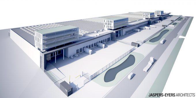 New airside cargo building Brucargo