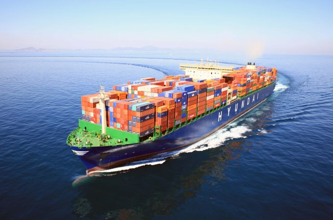 [Photo] HMM Container Ship