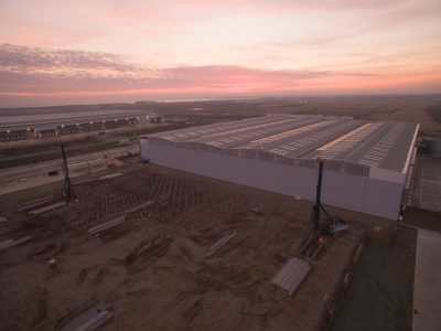 Piling begins for phase two of the DP World-London Gateway logistics centre
