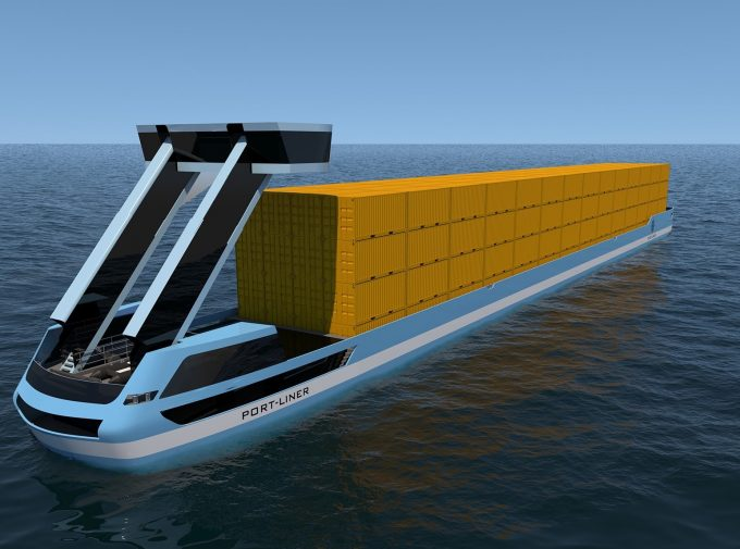 Port Liner electric barge