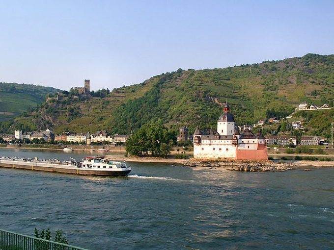 Rhine - Kaub