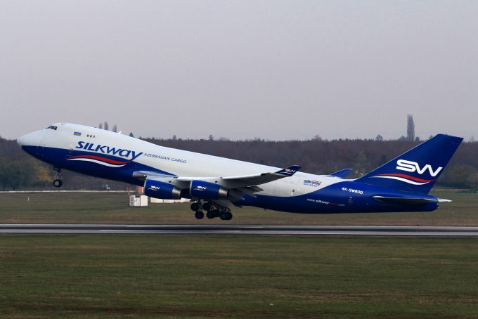 Silk Way West Airlines_Boing 747-400F