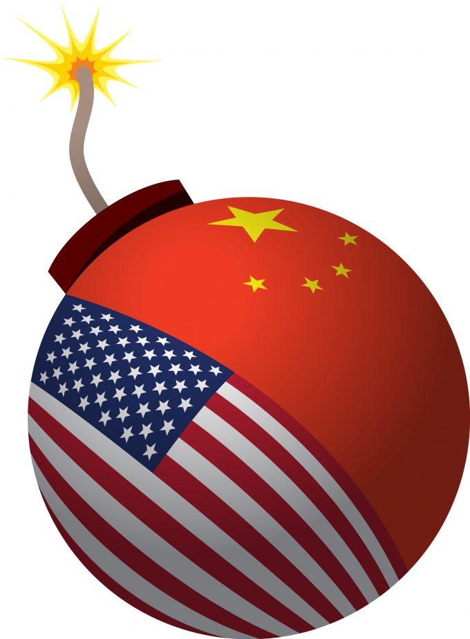 Trade war bomb