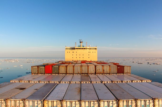 Venta Maersk -Northern Sea Route trial passage
