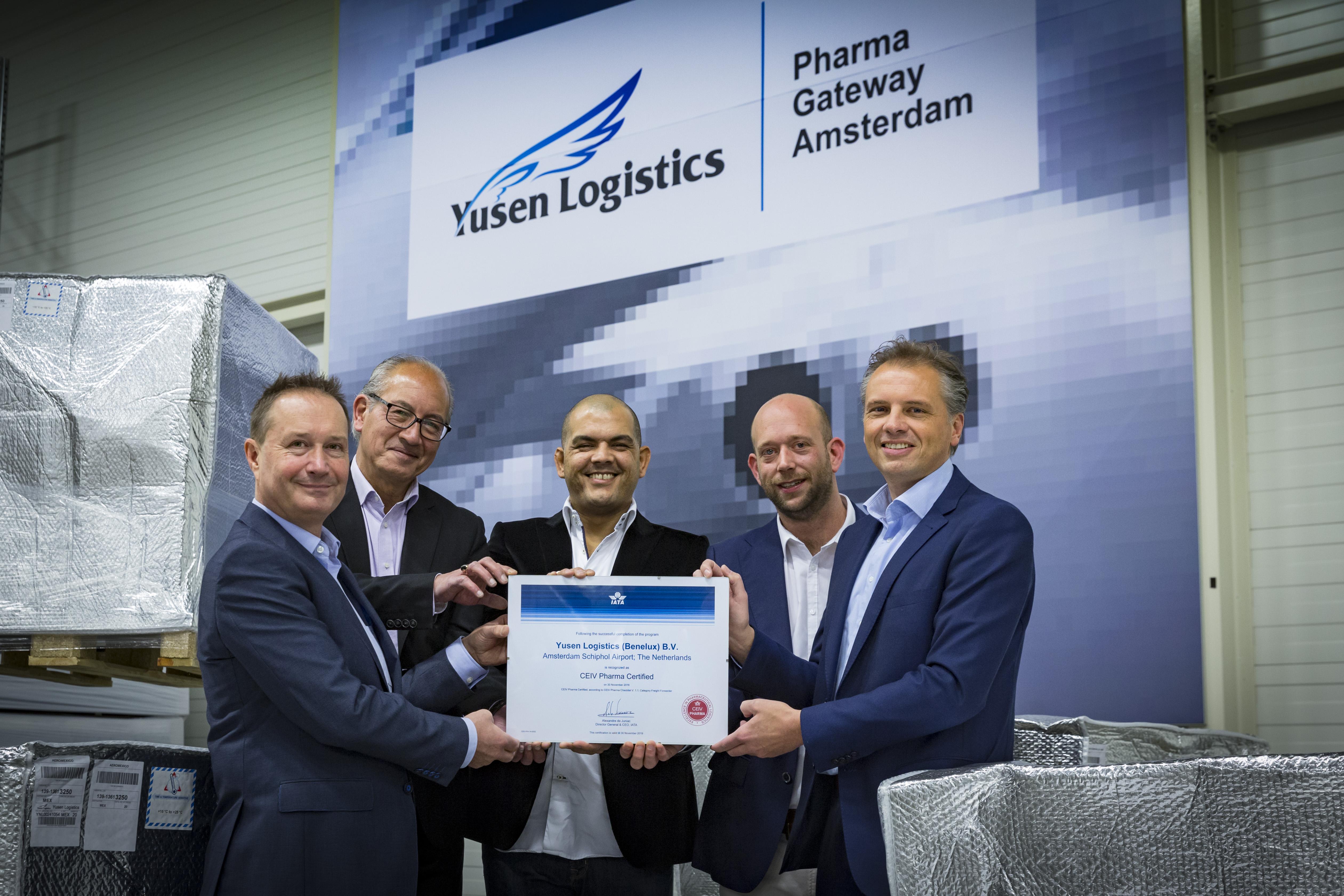 logistics in pharma sector