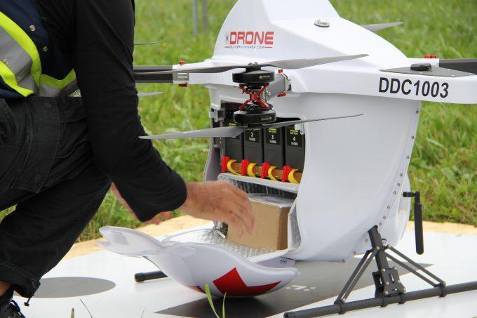 Air canada drone