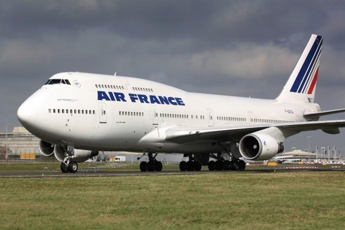 air france 747 © Rebius  