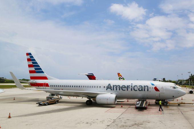 american airlines © Zhukovsky