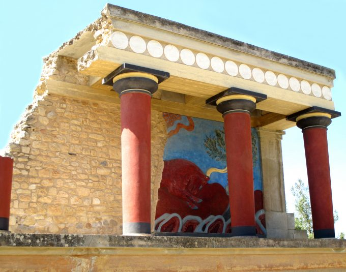 Ancient Customs House at Knossos dreamstime_m_92464404 Photo 92464404 Red Credit Coconutdreams Dreamstime.com