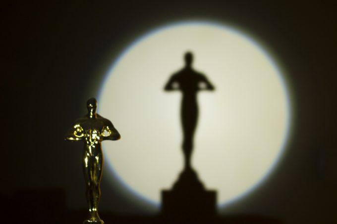 Golden award statues