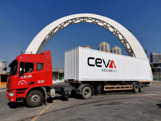 ceva truck china europe LTL
