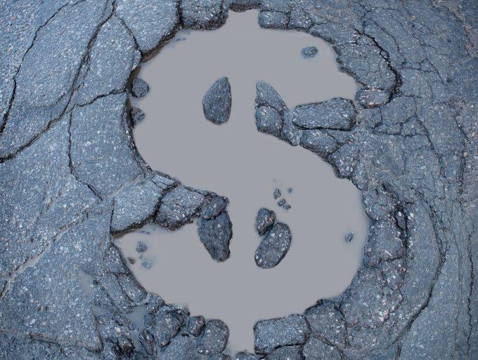 Cracked roads Illustration 34945088 Infrastructure Credit Skypixel Dreamstime.com