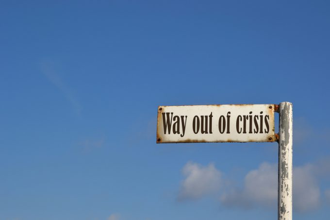 Way out of crisis