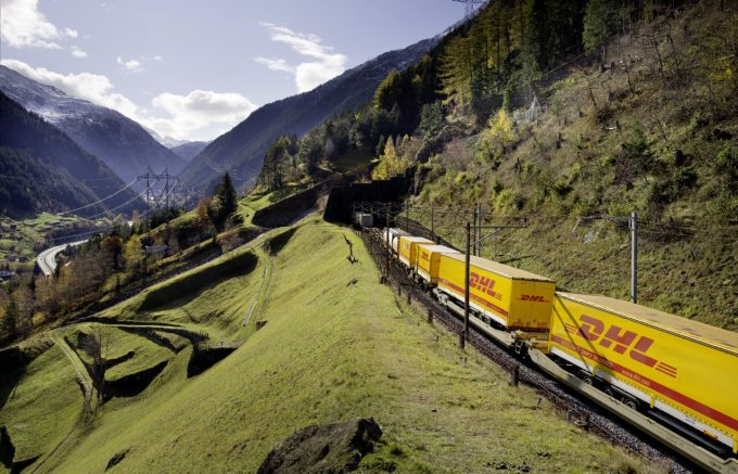 DHL China-Eurpe rail