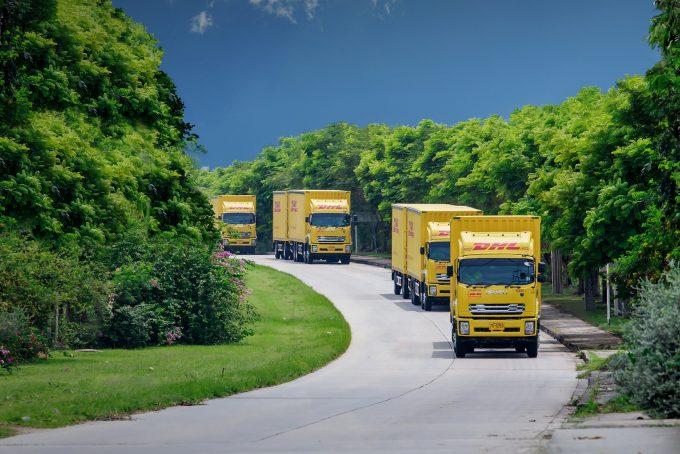 DHL Trucks