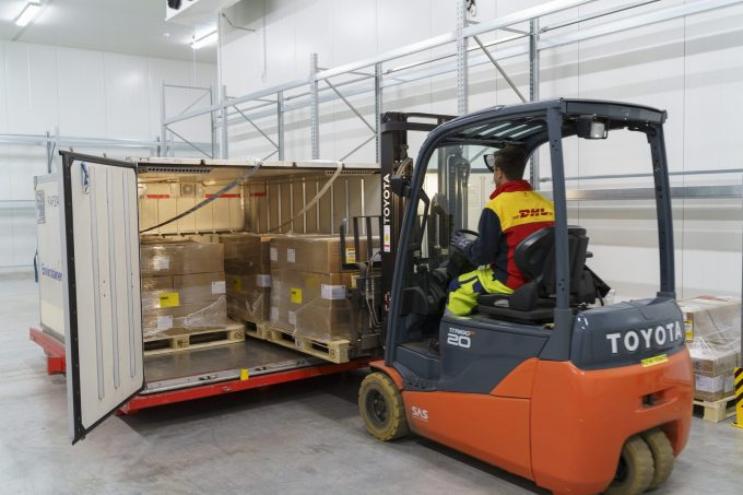 DHL Global Forwarding - Vaccine logistics