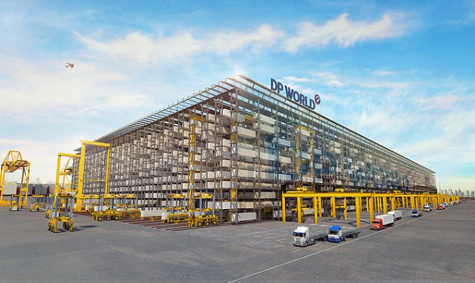 DP World racking terminal