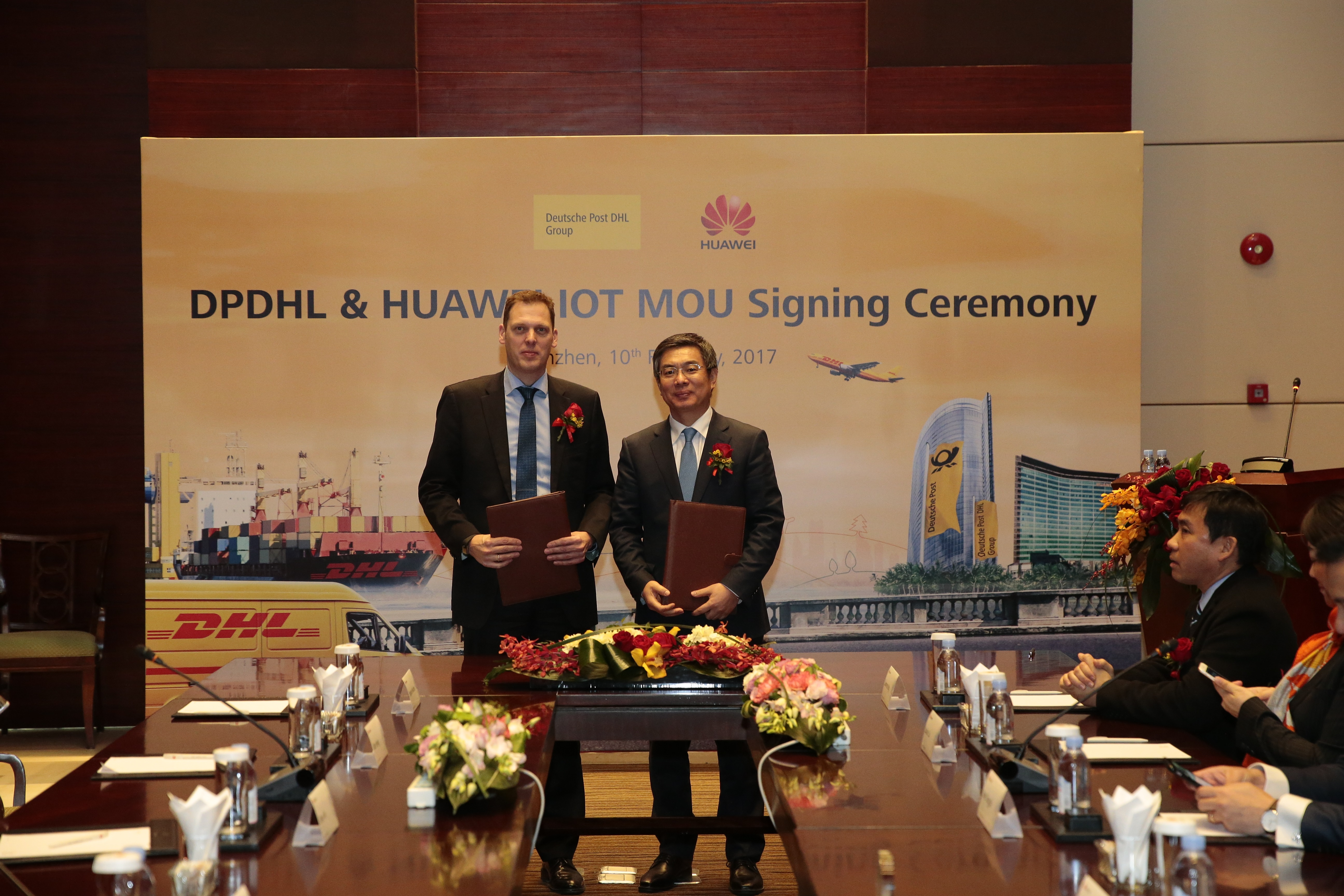 Markus Voss dhl and huawei plan to give supply chain management a hi tech