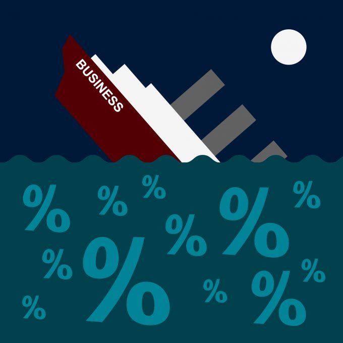 sinking ship GA