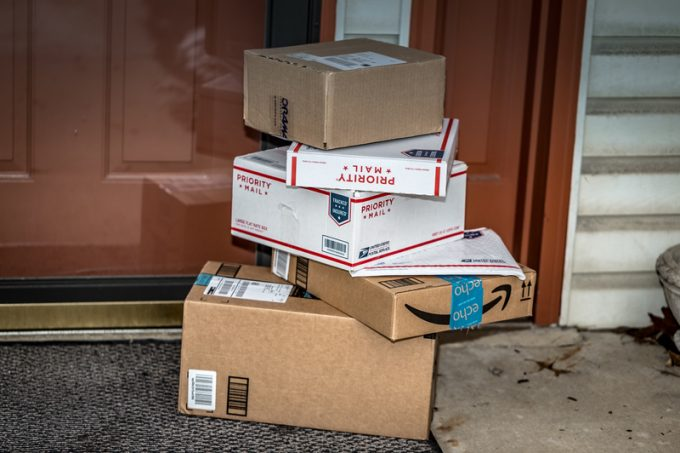 Amazon and USPS Packages